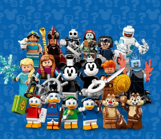 The LEGO Disney Series 2 Collectible Minifigures Series (CMF) Full Lineup