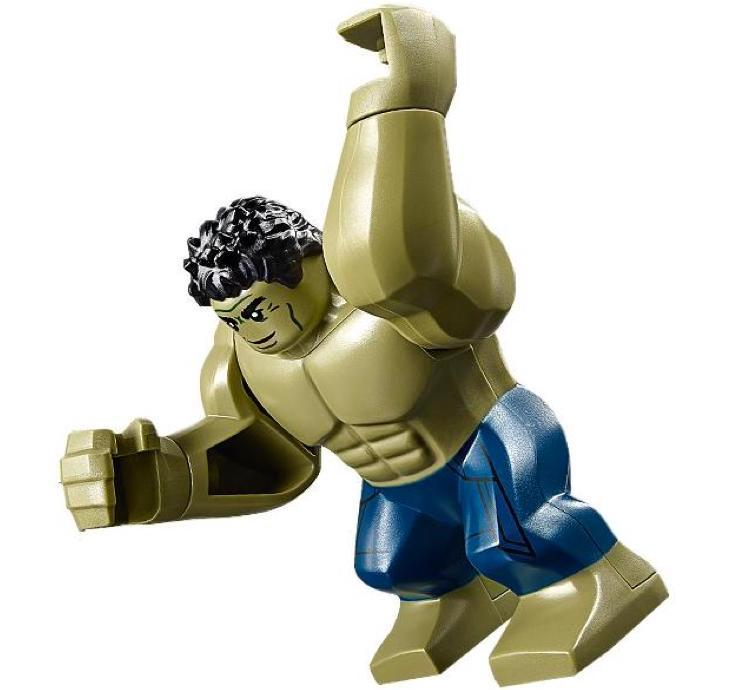 Hulk Smirking Shirtless Variant LEGO Minifigure