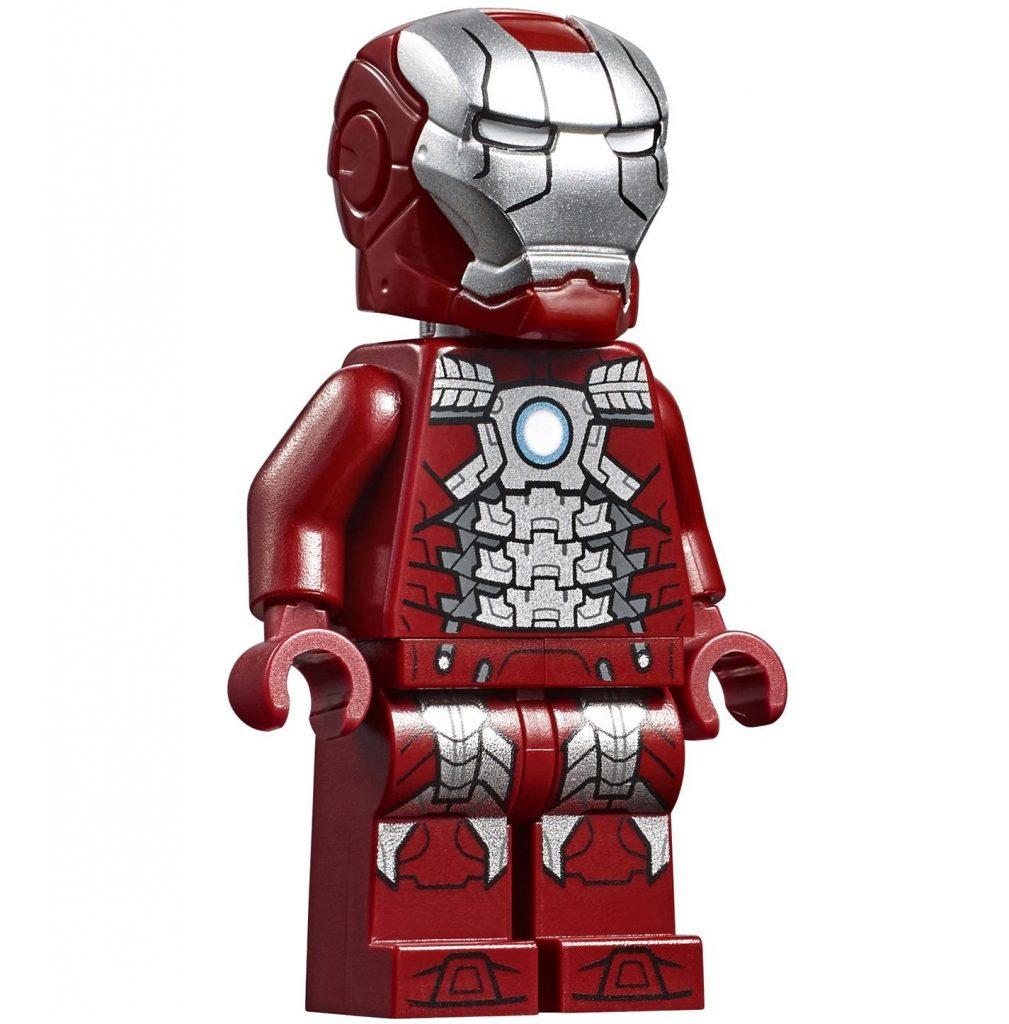 "Iron Man Mark 5 ""Suitcase"" LEGO Minifigure"
