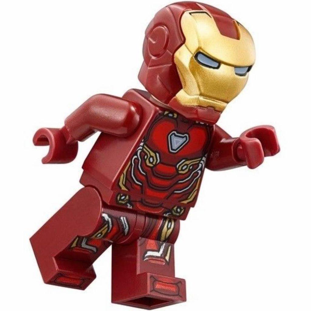 Iron Man Mark 50 Nanotech LEGO Minifigure