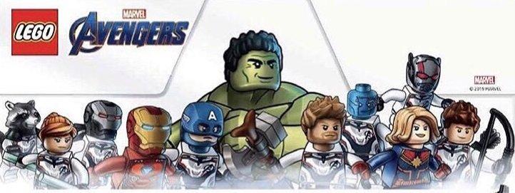 LEGO Marvel Angers Endgame Minifigures