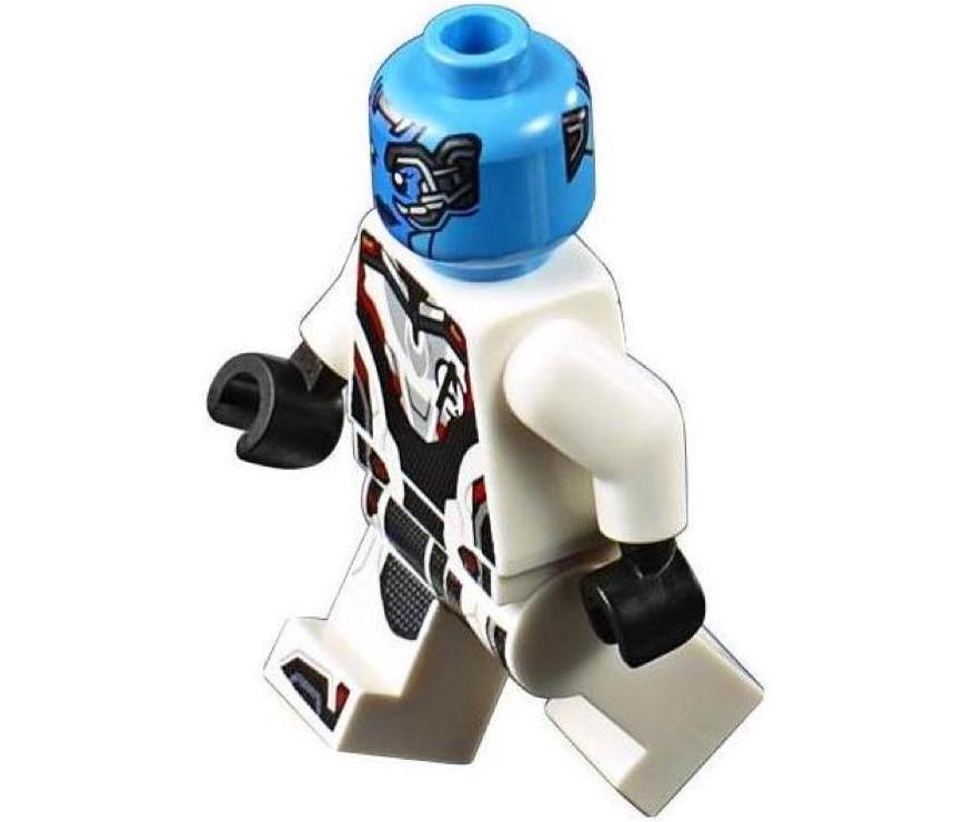 Nebula White Avengers Suit LEGO Minifigure