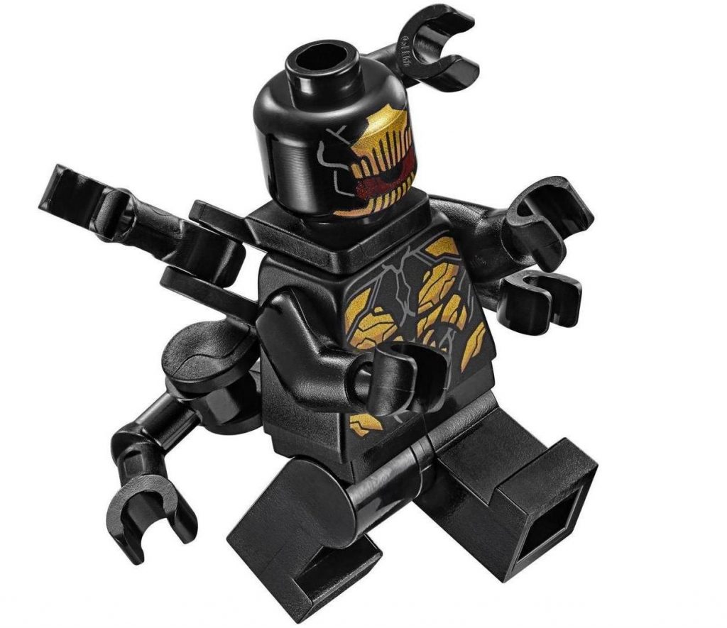 Outriders Six-Armed, Claw-less Variants LEGO Minifigure