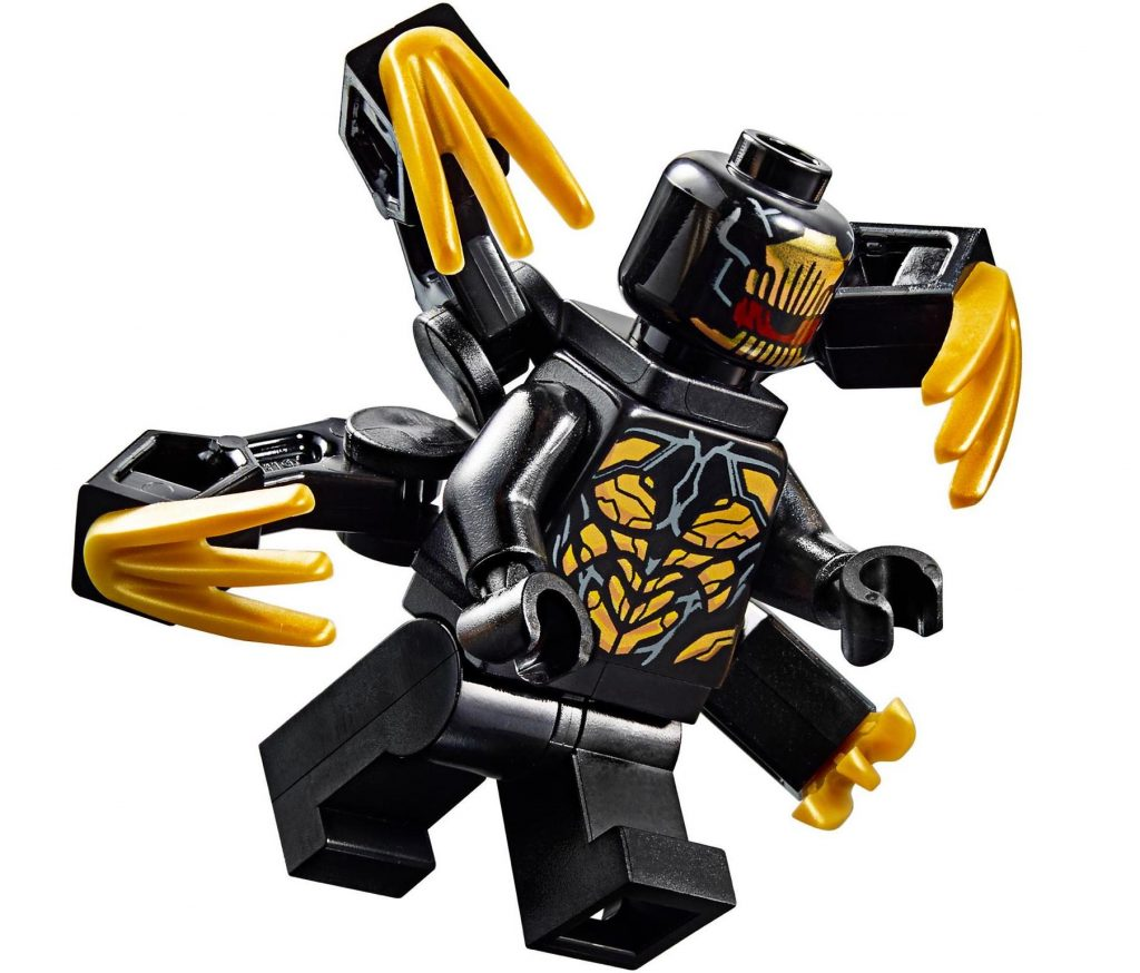 Outriders Six-Armed Clawed Variants LEGO Minifigure