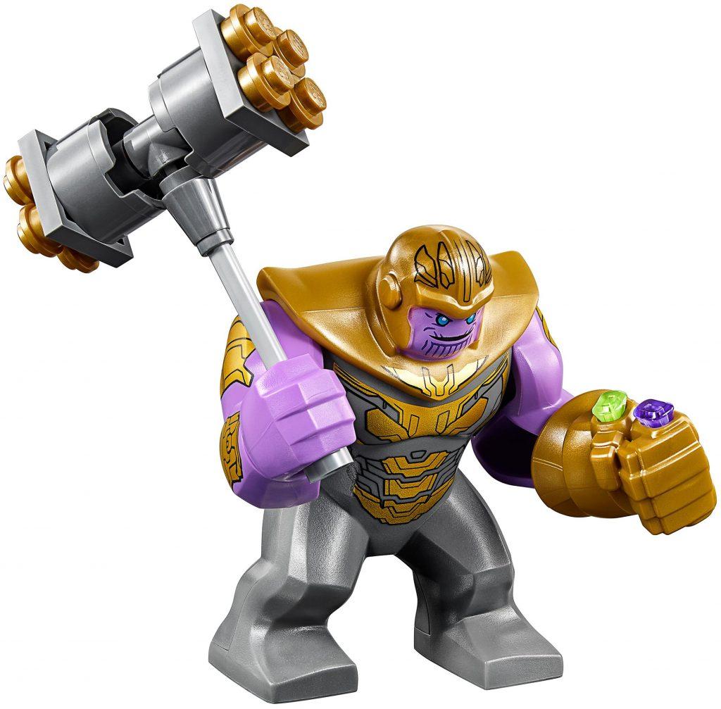 Thanos Armored Avengers Endgame Variant LEGO Minifigure