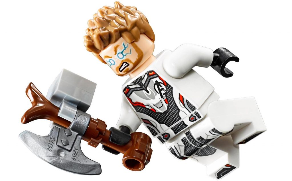 Thor White Avengers Suit LEGO Minifigure
