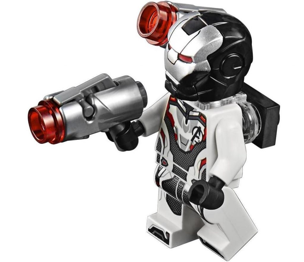 War Machine White Avengers Suit LEGO Minifigure