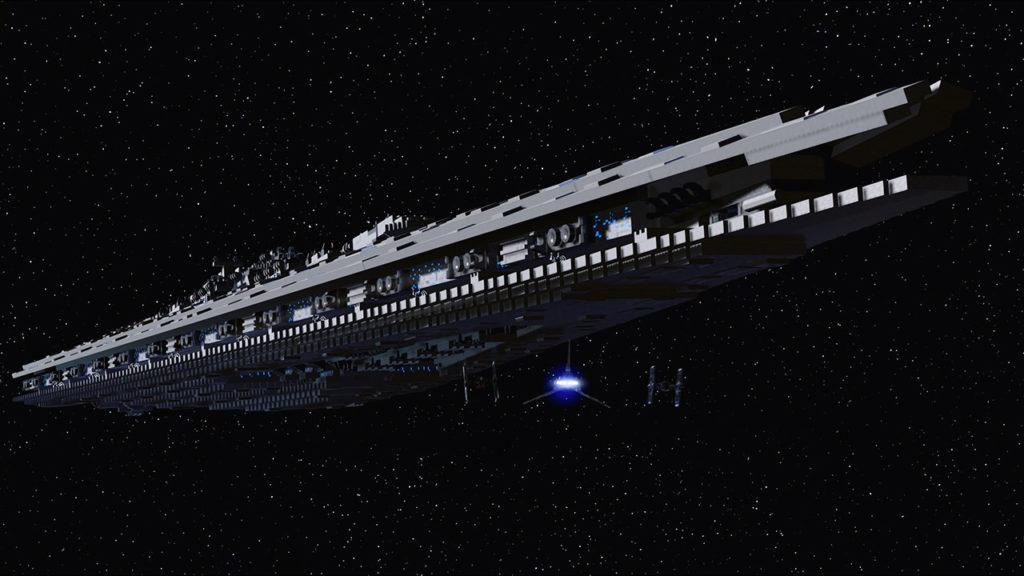 LEGO Star Wars The Skywalker Saga Destroyer