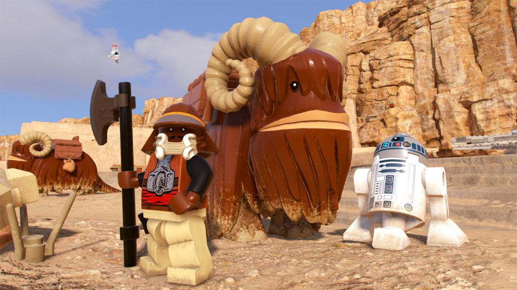 LEGO Star Wars The Skywalker Saga Lando
