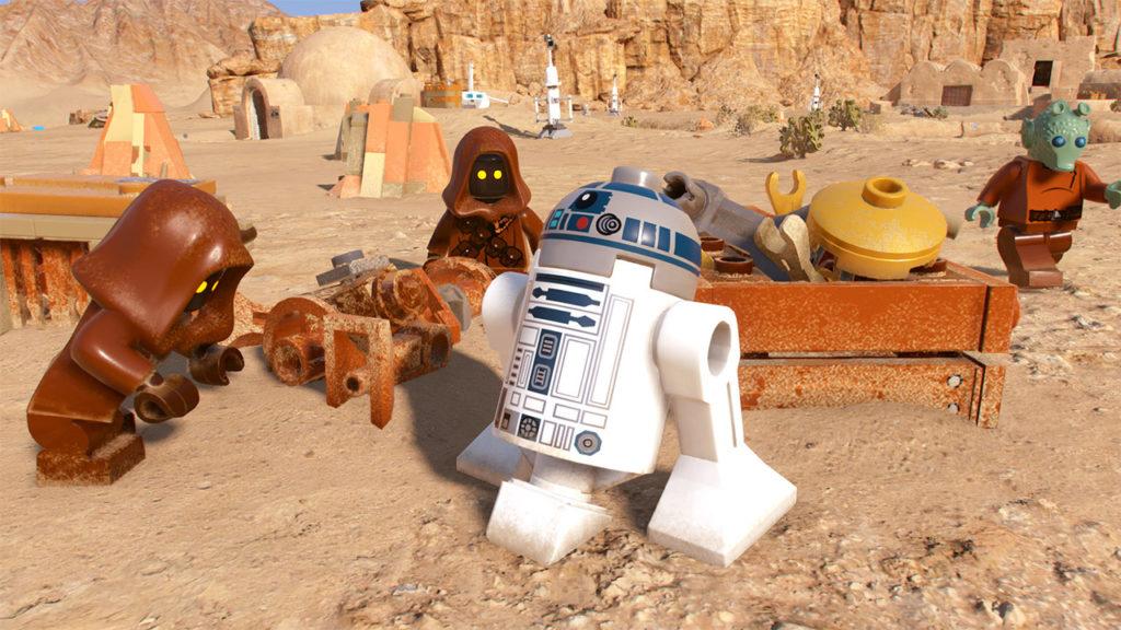 LEGO Star Wars The Skywalker Saga R2D2